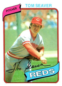 1980 Topps Tom Seaver Cincinnati Reds - JM Collectibles