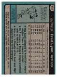 1980 Topps Fred Lynn Boston Red Sox - JM Collectibles
