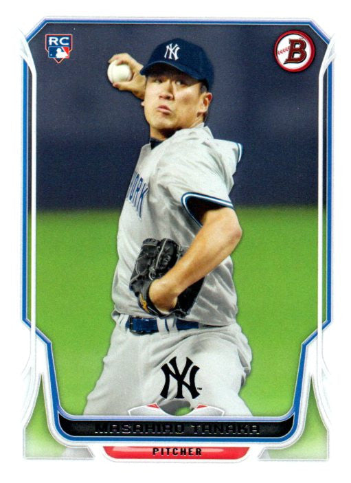 2014 Bowman Masahiro Tanaka Rookie Card New York Yankees - JM Collectibles