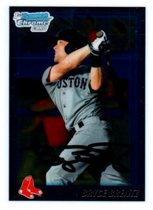 2011 Bowman Chrome Bryce Brentz Rookie Card Boston Red Soxs - JM Collectibles
