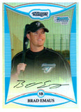 2008 Bowman Chrome Brad Emaus Prospect Refractor /500 Toronto Blue Jays - JM Collectibles