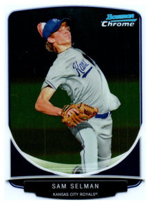 2013 Bowman Chrome Sam Selman Rookie Kansas City Royals - JM Collectibles
