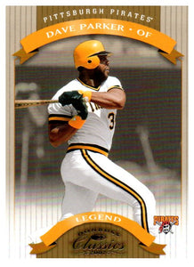 2002 Donruss Classics Dave Parker Legend /1500 Pittsburgh Pirates - JM Collectibles