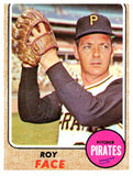 1968 Topps Roy Face Set Break Pittsburgh Pirates - JM Collectibles