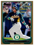 2012 Bowman Gold Yoenis Cespedes Rookie Card Oakland Athletics - JM Collectibles