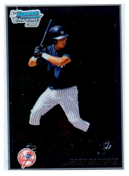 2010 Bowman Chrome Prospect Gary Sanchez New York Yankees - JM Collectibles
