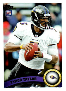 Discount Buy 2011 Topps Tyrod Taylor Rookie Card Baltimore Ravens Buffalo