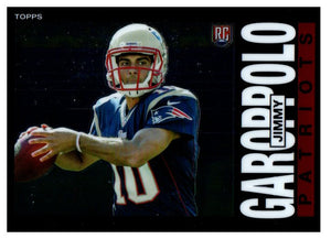2014 Topps Chrome Jimmy Garoppolo Rookie 1985 Design New England Patriots - JM Collectibles