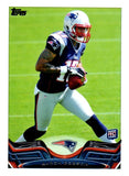 2013 Topps Aaron Dobson Rookie Card New England Patriots - JM Collectibles