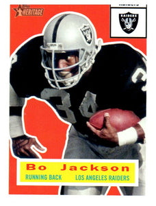 2015 Topps Heitage Bo Jackson Los Angeles Raiders - JM Collectibles