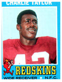 1971 Topps Charlie Taylor Washington Redskins - JM Collectibles