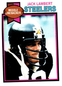 1979 Topps Jack Lambert Pittsburgh Steelers - JM Collectibles