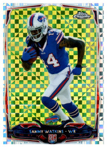 2014 Topps Chrome Sammy Watkins Rookie Xfractor Buffalo Bills - JM Collectibles
