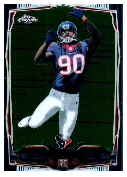 2014 Topps Chrome Jadeveon Clowney Rookie Houston Texans - JM Collectibles