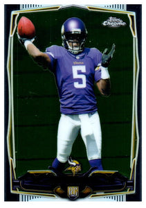 2014 Topps Chrome Teddy Bridgewater Rookie Minnesota Vikings - JM Collectibles