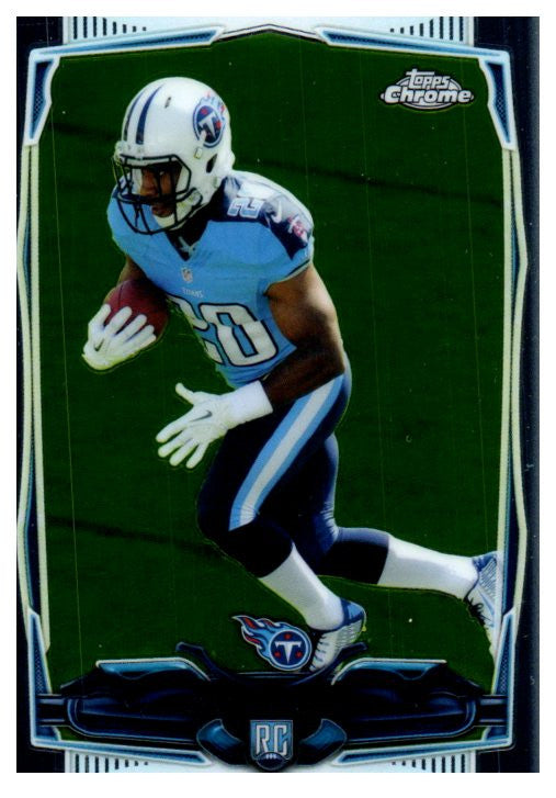 2014 Topps Chrome Bishop Shankey Rookie Tennessee Titans - JM Collectibles