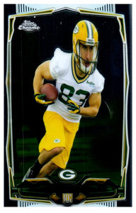 2014 Topps Chrome Jeff Janis Rookie Green Bay Packers - JM Collectibles
