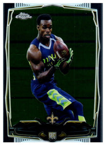 2014 Topps Chrome Brandon Coleman Rookie New Orleans Saints - JM Collectibles