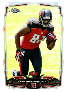 2014 Topps Chrome Austin Seferian Jenkins Rookie Refractor Tampa Bay Buccaneers - JM Collectibles