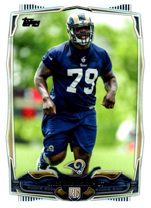 2014 Topps Greg Robinson Rookie St Louis Rams - JM Collectibles