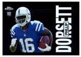 2015 Topps Chrome Phillip Dorsett 60th Anniversary Rookie Card Indanapolis Colts - JM Collectibles