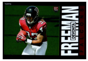 2014 Topps Chrome DeVonta Freeman Rookie Card Atlanta Falcons - JM Collectibles