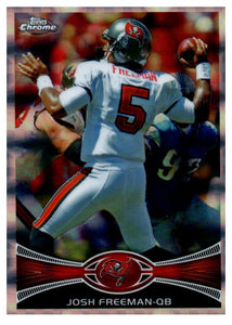 2012 Topps Chrome Josh Freeman Xfractor Tampa Bay Buccaneers - JM Collectibles
