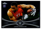 2012 Topps Chrome Juron Criner Rookie Card Oakland Raiders - JM Collectibles