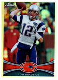 2012 Topps Chrome Tom Brady Refractor New England Patriots - JM Collectibles