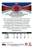 2012 Topps Chrome Victor Cruz New York Giants - JM Collectibles
