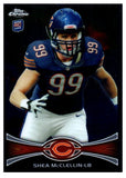 2012 Topps Chrome Shea McClellin Rookie Card New England Patriots - JM Collectibles