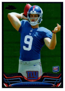 2013 Topps Chrome Ryan Nassib Rookie Card New York Giants - JM Collectibles
