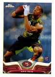 2013 Topps Chrome Eric Reid Refractor Rookie Card San Francisco 49ers - JM Collectibles