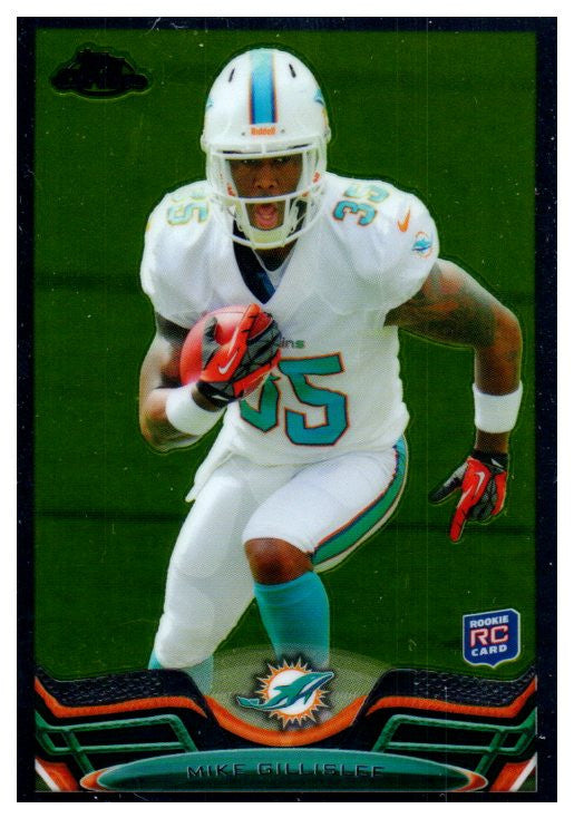 2013 Topps Chrome Mike Gillislee Rookie Card New England Patriots - JM Collectibles
