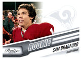 2010 Panini Prestige Sam Bradford Rookie Card St Louis Rams - JM Collectibles