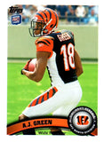 2011 Topps A.J. Green Rookie Card Cincinnati Bengals - JM Collectibles