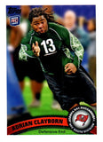 2011 Topps Adrian Clayborn Rookie Card Tampa Bay Buccaneers - JM Collectibles