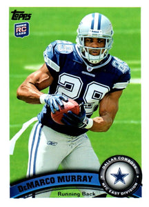 2011 Topps Demarco Murray Rookie Card Dallas Cowboys - JM Collectibles