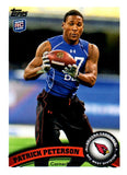 2011 Topps Patrick Peterson Rookie Card Arizona Cardinals - JM Collectibles