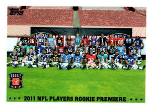 2011 Topps NFL Players Rookie Premiere Card - JM Collectibles