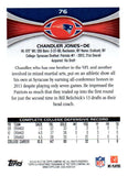 2012 Topps Chandler Jones Rookie Card New England Patriots - JM Collectibles