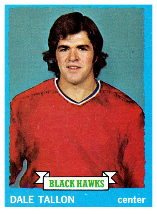 1973 Topps Dale Tallon Chicago Blackhawks - JM Collectibles