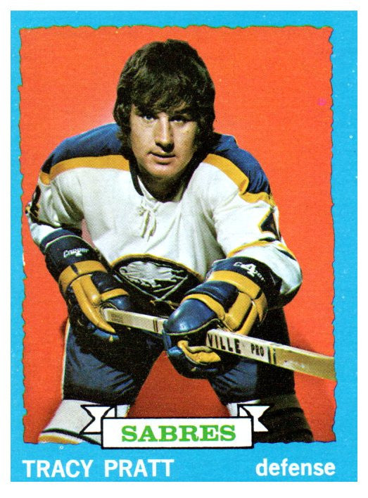 1973 Topps Tracy Pratt Buffalo Sabres - JM Collectibles