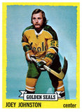 1973 Topps Joey Johnston California Golden Seals - JM Collectibles