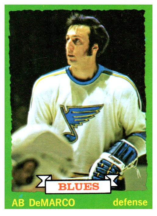1973 Topps Ab DeMarco St Louis Blues - JM Collectibles
