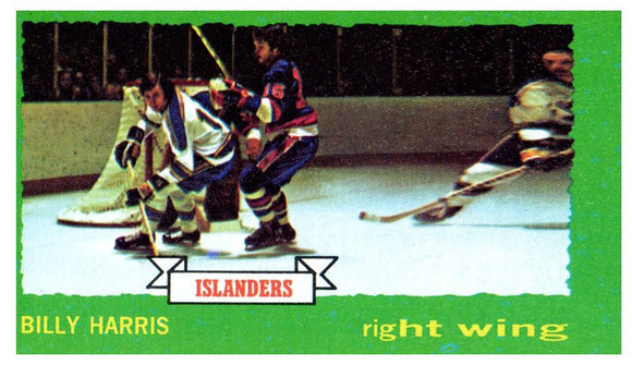 1973 Topps Billy Harris New York Islanders - JM Collectibles