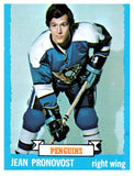1973 Topps Jean Pronovost Pittsburgh Penguins - JM Collectibles