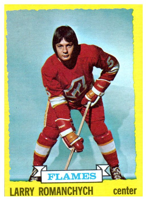 1973 Topps Larry Romanchych Atlanta Flames - JM Collectibles