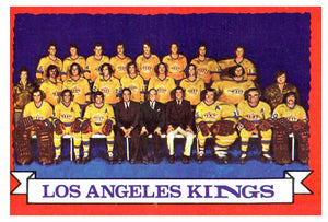 1973 Topps Los Angeles Kings Team Card - JM Collectibles