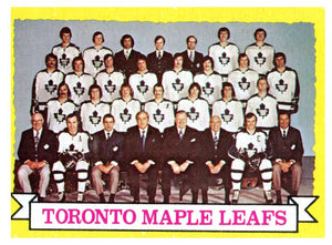 1973 Topps Toronto Maple Leafs Team Card - JM Collectibles